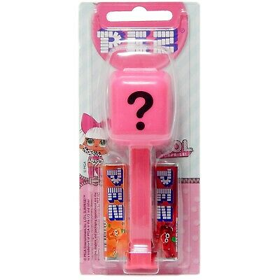 European PEZ Dispenser with Candies Mystery LOL Surprise 2019 Made in China