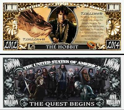 The Hobbit Billet Million Dollar US! Collection Lord of Rings Tolkien The