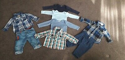 Baby boy 3-6 months winter clothes bundle next gap h&m
