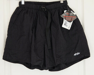 Dolfin lined athletic shorts with belt, black, run exercise swim, men's size S