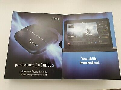 Elgato Game Capture HD60 S - Stream and Record in 1080p60, for PS4, Xbox