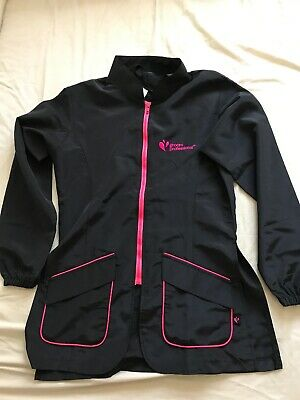 Groom Professional Black/Pink Dog Grooming Tunic