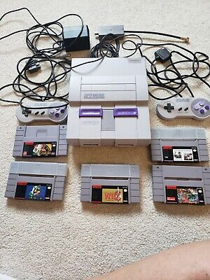 Super Nintendo Entertainment System: Super NES Classic Edition.  + 5 games