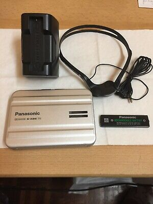 Panasonic Rq-Sx85 Walkman Cassette Player Working+Headphone+Charger+Battery