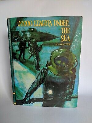 20000 Leagues Under the Sea by Jules Verne  Educator Classic Library (1969) Rare