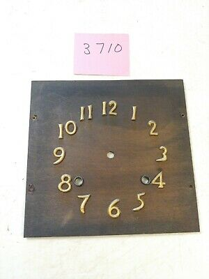 Antique Ingraham Mission Shelf Clock Dial With Numbers