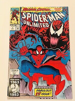 Spider-Man Unlimited 1 Maximum Carnage 1 Marvel Vf/Nm 1993