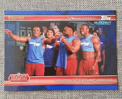 Topps WWE Champions 2019 Blue Parallel Card #8 (30/100)