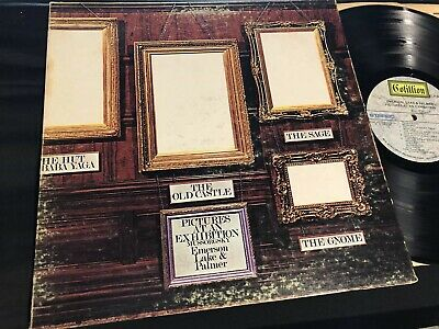 Emerson Lake & Palmer, Pictures at an Exhibition ORIGINAL 1972 VG+++ ELP 66666