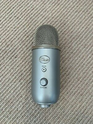 Blue Microphones Yeti USB Microphone - Silver - Great Condition