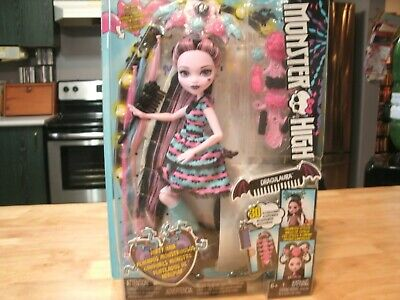 "Monster High Draculaura  PARTY HAIR Doll W/ Accessories 12"" MATTEL NEW In Box!"