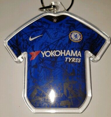 Chelsea FC19/20 personalised keyring with badges