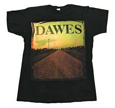 Dawes American Indie Folk Rock Concert Tour Band Shirt Mens Size Small