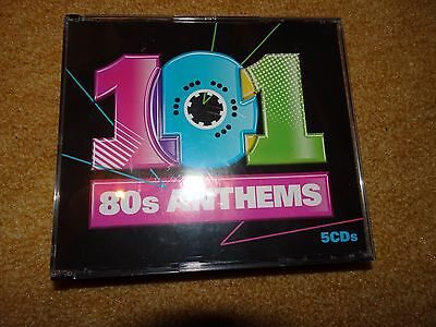 101 80s Anthems 5CDs