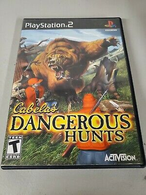 Cabela's Dangerous Hunts PS2 (Sony PlayStation 2, 2003)