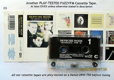 DEPECHE MODE The Singles 81-85 UK CASSETTE ALBUM/TESTED Comp. C MUTEL 1 Chrome