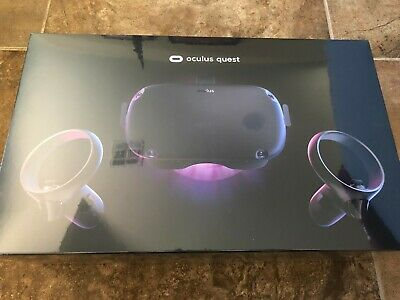Oculus Quest 128GB VR Headset - Black BRAND NEW SEALED FREE SHIPPING!