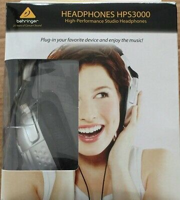 Behringer HPS3000 Headband Headphones - Black/White