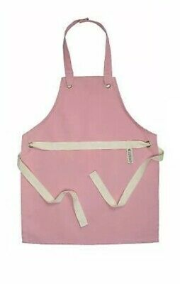 BRAND NEW! Kids Children's Junior LE CREUSET pink Apron - One Size