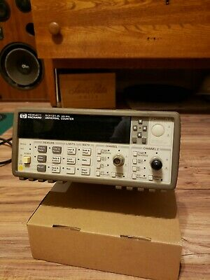 HP Agilent 53131A Universal Frequency Counter, 225MHz, Used
