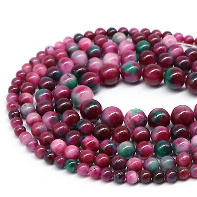 Natural Persian Jade Loose Beads Making Jewelry 15 inches Accessories Gemstone
