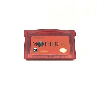Mother 1 + 2 Earthbound Nintendo Gameboy Advance GBA English Translation