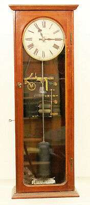 A Rare Small Size 3/4 Second Beating  Synchronome Clock Ca. 1914
