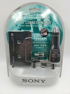 Sony DCC-E34CP / CPA9 Car Cassette Adapter / Power Kit for CD/MD Walkman