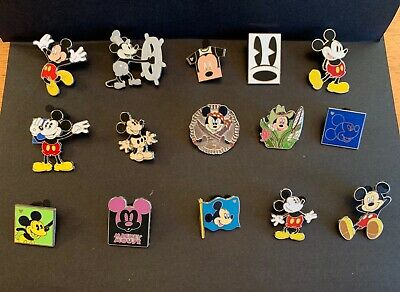 Disney Trading Pins Lot of 15 Mickey Mouse