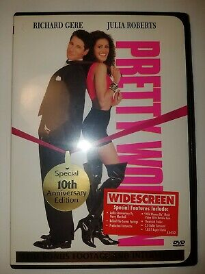 PRETTY WOMAN 10th Anniversary Edition [DVD, Rated R, 2000] Julia Roberts