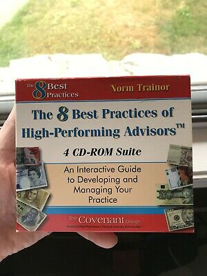 The 8 best Practices of High-Performing Advisors 4 CD ROM Series Norm Trainor
