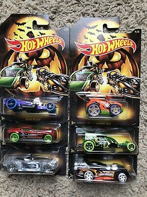 2019 HOT WHEELS~Halloween complete set of 6~FREE SHIPPING in the US!