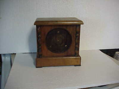 Vintage Mantle Style Clock Case Only parts repair B