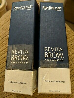 RevitaLash Eyelash Conditioner- Two Packages. Advanced Conditioner 3ml.
