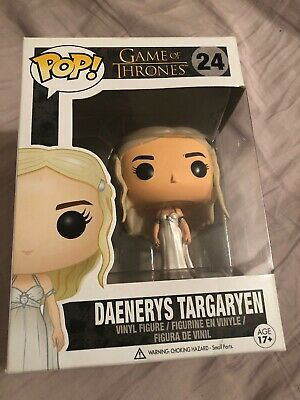 Funko POP! Game of Thrones Daenerys Targaryen Wedding Dress #24 2014 Vaulted B11