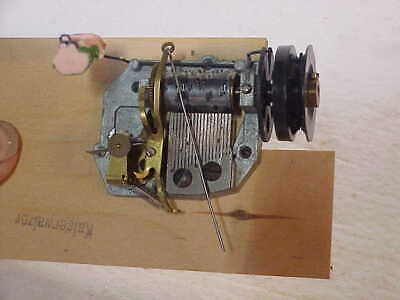 Vintage Used Musical Movement for Cuckoo Clock parts repair H