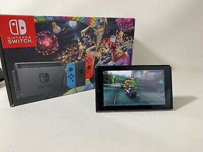 Nintendo Switch 32GB Console Only+ Mario Kart Deluxe 8
