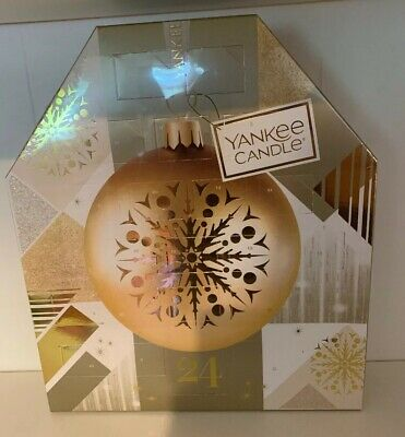 Yankee Candle Advent Christmas Advent Calendar 2018 *NEW and SEALED*