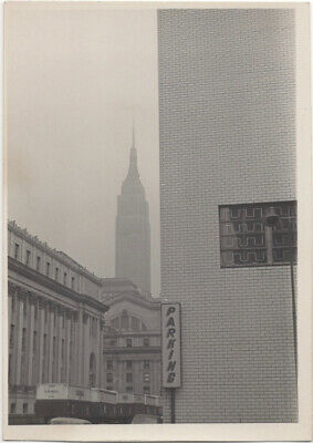 View of Manhattan, New York, early 60s: Farley P.O., Penn Station, Empire State