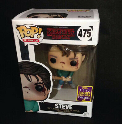 Funko Pop Stranger Things Steve #475 SDCC 2017 Exclusive in Box