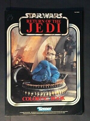 Rare 1983 Star Wars ROTJ Coloring Book Kenner