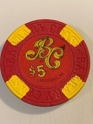 BARBARY COAST $5 Casino Chip Las Vegas Nevada 3.99 Shipping