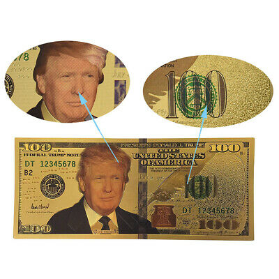 US President Donald Trump $100  Commemorative Banknote YS7