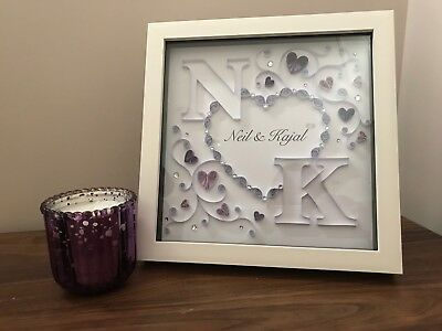 Personalised Quilled Wedding Art, PERSONALISED TO YOUR SPECIFICATIONS
