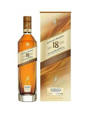Johnnie Walker Scotch Whisky 18 YO 700mL @ 40 % abv