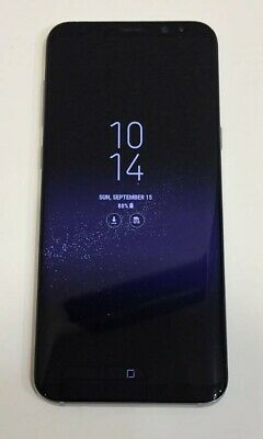 Samsung Galaxy S8+ Plus G955U - MINT condition, Unlocked  AT&T 64GB Silver Extra
