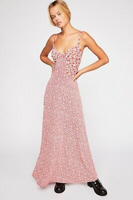 Free People Song Of Summer Maxi Dress  Small