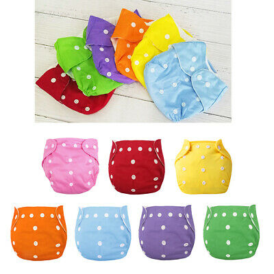 Infant  Baby Boys Girls Cloth Diaper Reusable Washable Pocket Nappy