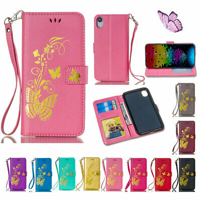 Fr iPhone 11 Pro Max 7 8 Plus X Card Wallet Flip Leather Stand Holder Case Cover