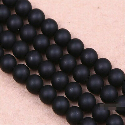 """6 mm frosted agate Loose bead Making Jewelry 1PCS 15"""" Healing Spacer Wholesale"""